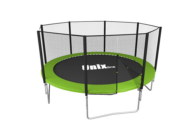 Батут UNIX line Simple 12 ft Green (outside) всплывающая